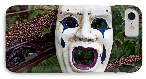 Mask And Ladybugs Phone Case by Garry Gay