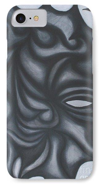 Mask Phone Case by Jamie Lynn
