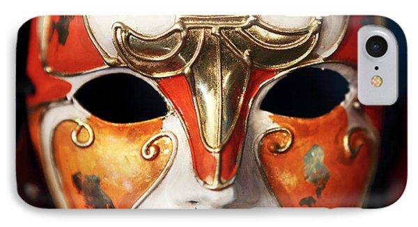 Mask Phone Case by John Rizzuto