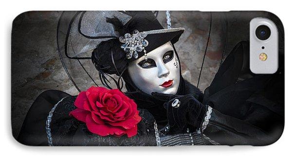 Mask Portrait IPhone Case by Yuri Santin