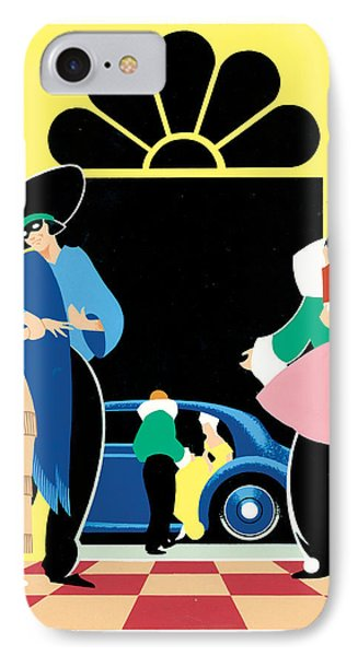 Masked Ball Phone Case by Brian James