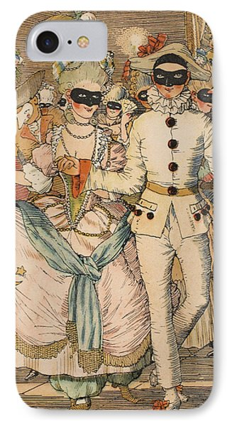 Masked Ball Phone Case by Konstantin Andreevic Somov