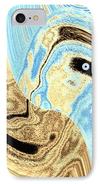 Masked- Man Abstract IPhone Case by Will Borden