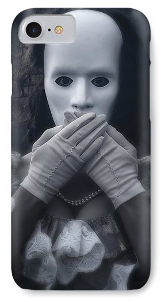 Masked Woman Phone Case by Joana Kruse