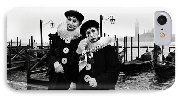 Masks In Venice IPhone Case by Yuri Santin