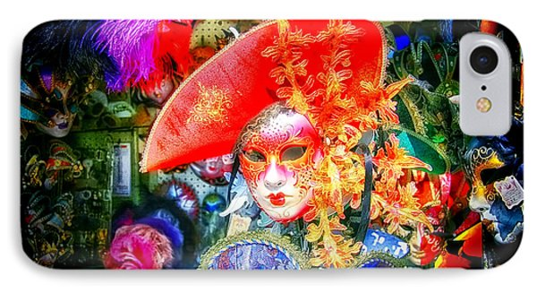IPhone Case featuring the photograph Masks Of Venice 06 by Jack Torcello