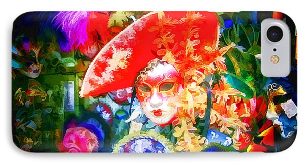 IPhone Case featuring the photograph Masks Of Venice 10 by Jack Torcello
