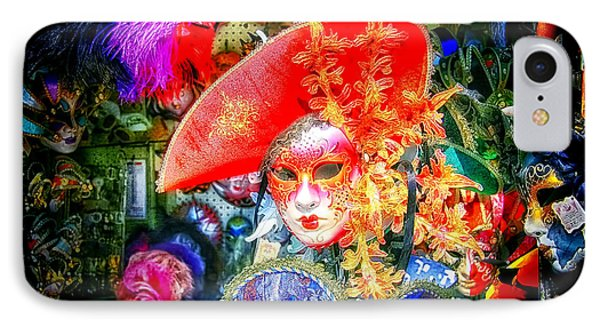IPhone Case featuring the photograph Masks Of Venice 13 by Jack Torcello
