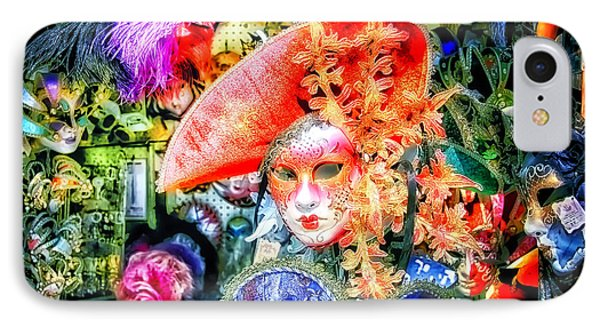 IPhone Case featuring the photograph Masks Of Venice 21 by Jack Torcello