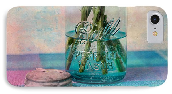 Mason Jar Vase Phone Case by Kay Pickens