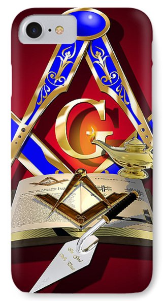 Masonic Education Phone Case by Stephen McKim
