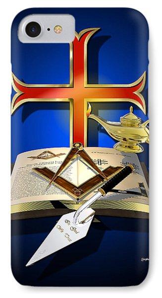 Masonic Relation Phone Case by Stephen McKim
