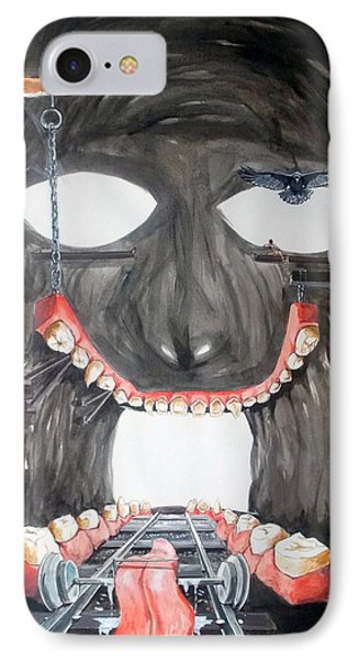 Masquera Carcaza  Phone Case by Lazaro Hurtado