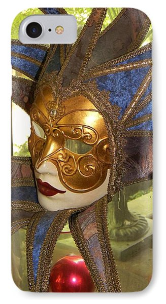 Masquerade IPhone Case by Jean Goodwin Brooks