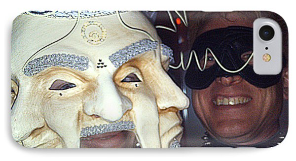 Masquerade Masked Frivolity IPhone Case by Feile Case