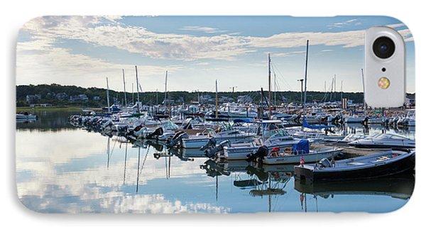 Massachusetts, Cape Cod, Wellfleet IPhone Case by Walter Bibikow