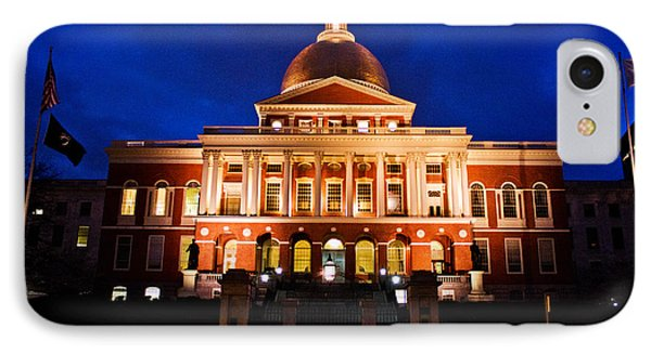 Massachusetts State House IPhone Case by John McGraw
