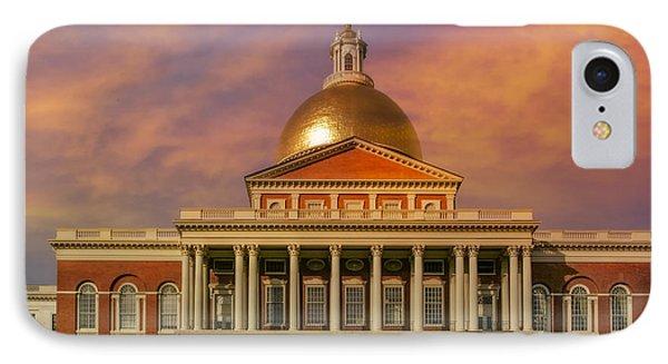 Massachusetts State House IPhone Case