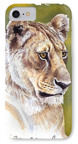 Massai Queen IPhone Case by Aaron Blaise