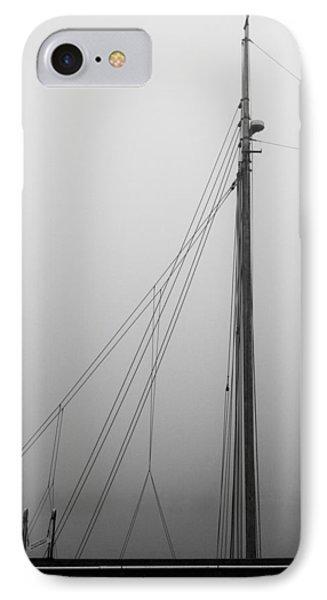 Mast And Rigging Phone Case by Bob Orsillo