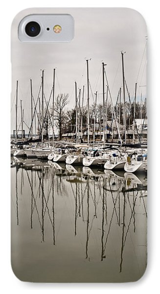 Mast Reflections IPhone Case by Greg Jackson