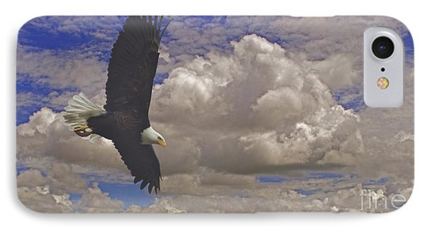 Master In Flight - Signed  IPhone Case by J L Woody Wooden
