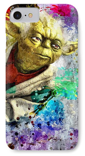 Master Yoda IPhone Case by Daniel Janda