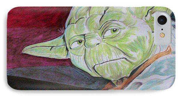 Master Yoda Phone Case by Jeremy Moore
