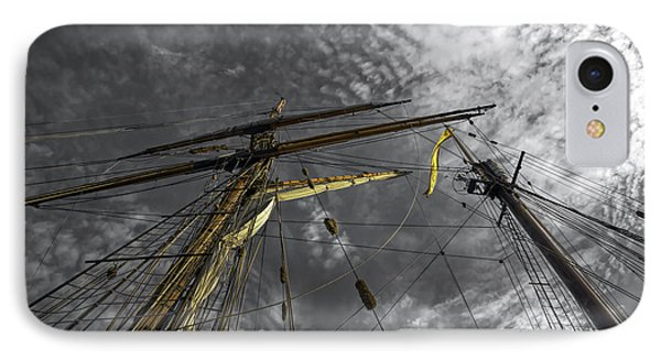 Masts And Rigging IPhone Case