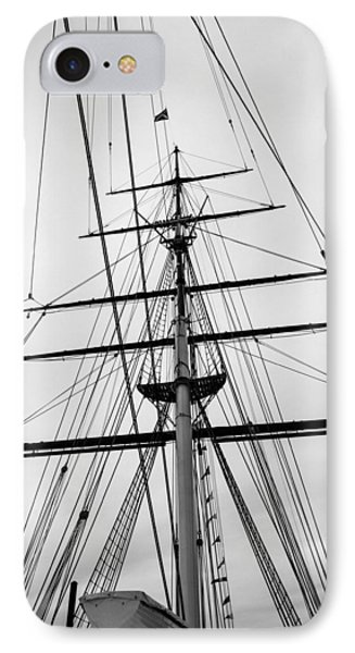 IPhone Case featuring the photograph Masts Of The Cutty Sark by Ross Henton