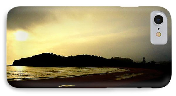 Matapouri At Sunrise IPhone Case by Peter Mooyman