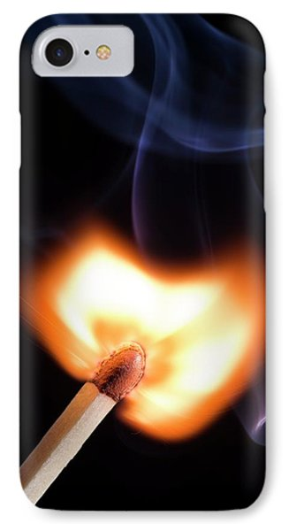 Match Igniting IPhone Case by Daniel Sambraus