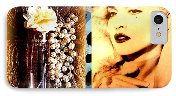 Material Girl Phone Case by The Creative Minds Art and Photography