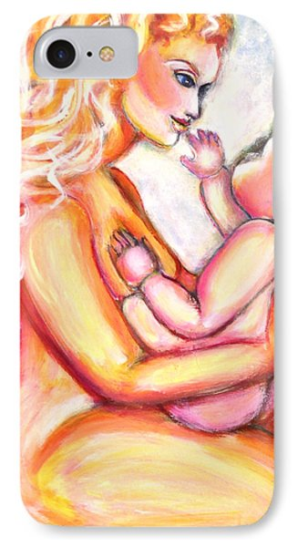 Maternal Bliss IPhone Case by Anya Heller