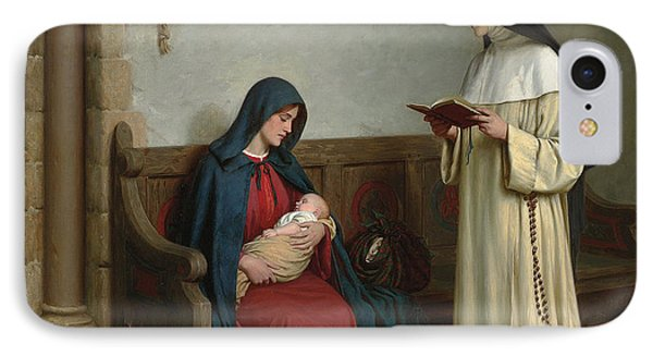 Maternity IPhone Case by Edmund Blair Leighton