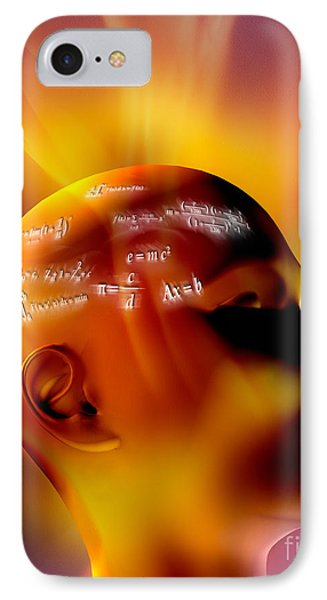 Mathematics Phone Case by Mike Agliolo