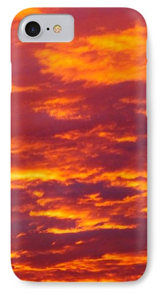 Matin De Feu IPhone Case by Marc Philippe Joly