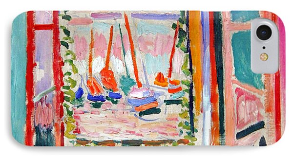 Matisse's Open Window At Collioure IPhone Case by Cora Wandel