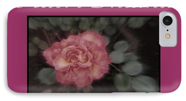 Matri Dhama Design 5 IPhone Case by Bobbee Rickard