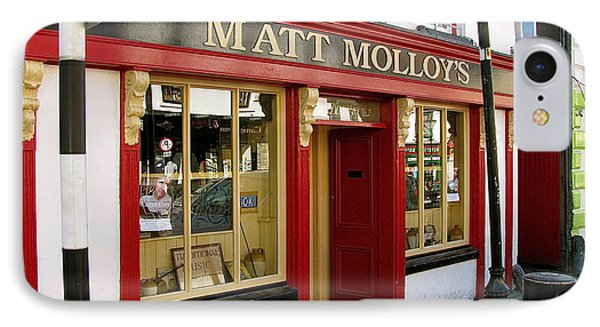 Matt Malloys Pub Westport Ireland IPhone Case by Melinda Saminski