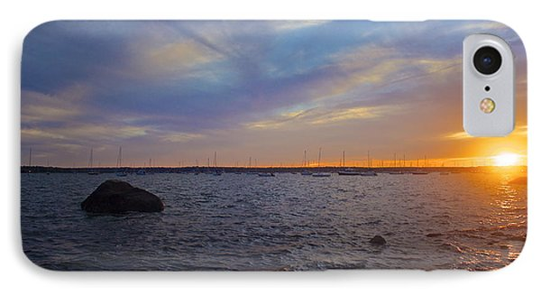 IPhone Case featuring the photograph Mattapoisett Sunset by Amazing Jules