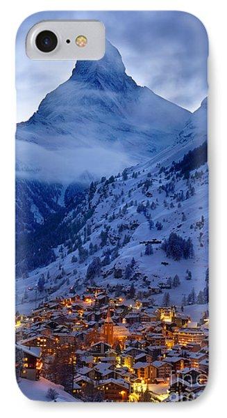 Matterhorn At Twilight Phone Case by Brian Jannsen
