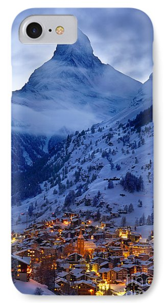Matterhorn At Twilight IPhone Case by Brian Jannsen