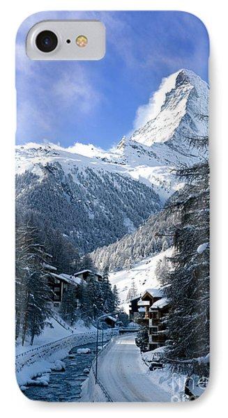 Matterhorn  Phone Case by Brian Jannsen