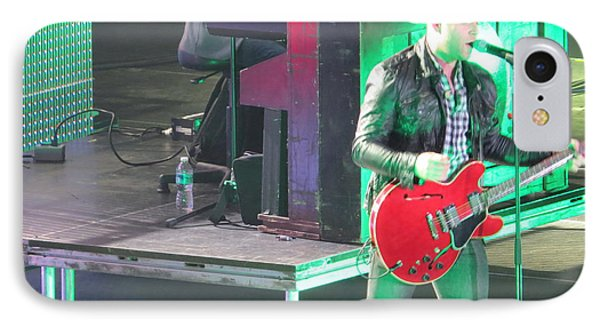 IPhone Case featuring the photograph Matthew West At Winterjam by Aaron Martens