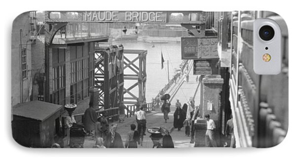 Maude Bridge In Baghdad IPhone Case by Underwood Archives