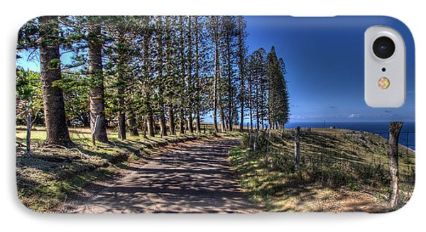 Maui Back Roads IPhone Case