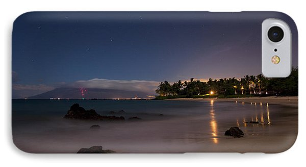 Maui By Night Phone Case by James Roemmling