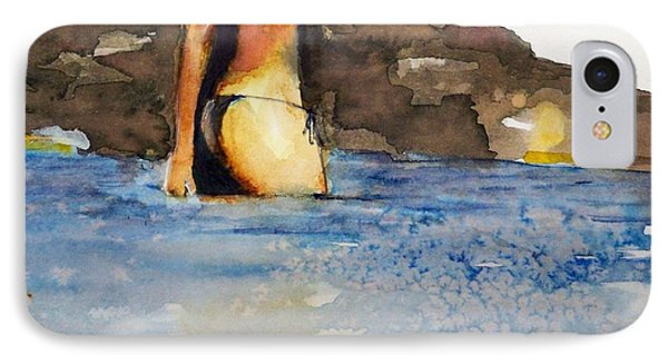 IPhone Case featuring the painting Niue by Ed  Heaton