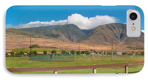 Maui Hawaii Mountains Near Kaanapali   IPhone Case by Lars Lentz